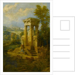 Classical Composition, a Tomb by Joseph Michael Gandy