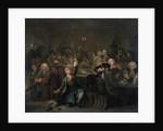 A Rake's Progress VI: The Rake at a Gaming House, 1733 by William Hogarth