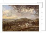 Stroud and the Severn, Gloucestershire by Désiré Delaplace-Gérardin