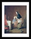 The Morning Toilet by Jean-Baptiste Simeon Chardin