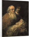 Simeon in the Temple, 1669 by Rembrandt Harmensz. van Rijn
