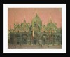 A Red Sky at Night, San Marco by Walter Richard Sickert