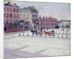 Cumberland Market, North Side, 1912 by Robert Polhill Bevan