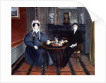 Couple Having Tea, c.1830 by French School