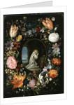 Saint in a Cavern by F. & Brueghel J. Francken