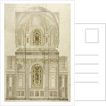 Decorative scheme for the apse of St. Paul's Cathedral, late 19th century by Thomas Garner