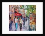 Paris Street by Sylvia Paul
