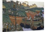 The Slavs on the Dnieper, 1905 by Nicholas Roerich
