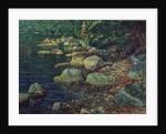 River Scene in Palazzuolo by Aleksandr Andreevich Ivanov
