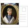 Portrait of a Boy, possibly Prince Anatoly Levin by Ivan Nikolaevich Kramskoy