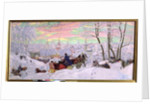 Shrove-Tide, 1916 by Boris Mikhailovich Kustodiev