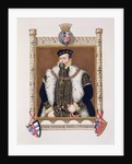 Portrait of William Herbert 1st Earl of Pembroke by Sarah Countess of Essex