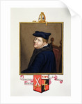 Portrait of Edmund Bonner Bishop of London by Sarah Countess of Essex