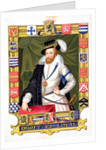 Portrait of Robert Dudley Earl of Leicester, by Sarah Countess of Essex