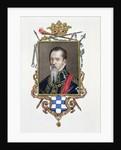 Portrait of Ferdinand Alvarez de Toledo Duke of Alva by Sarah Countess of Essex