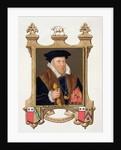 Portrait of Sir Nicholas Bacon by Sarah Countess of Essex