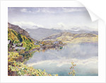 The Lake of Lucerne, Mount Pilatus in the Distance, 1857 by John William Inchbold