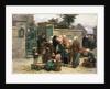Taking in Foundlings by Leon Augustin Lhermitte