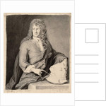 Portrait of Grinling Gibbons by Godfrey Kneller