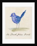 The Dark Blue Bird by Edward Lear