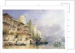 The House on the Bosphorus by Thomas Allom
