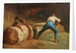 The Wood Sawyers, 1848 by Jean-Francois Millet