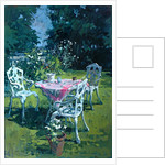 White Chairs at Belchester by Susan Ryder