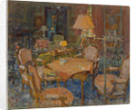 The Card Table, L'Eveche by Susan Ryder