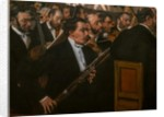 The Opera Orchestra. 1870. Oil on canvas. by Edgar Degas