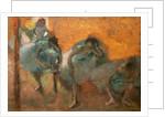 Home dancers by Edgar Degas