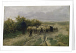 Returning Home, End of the Day by Anton Mauve