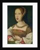 Portrait of Mary Tudor Daughter of Henry VII by Bernard van Orley