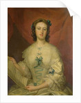 Portrait of a Lady with Sheet Music by Thomas Bardwell