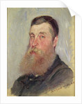 Portrait of an English Painter, Bordighera, 1884 by Claude Monet