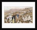 Jesus on his way to Galilee by James Jacques Joseph Tissot