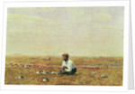 Whistling for Plover, 1874 by Thomas Cowperthwait Eakins