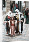 Jesus Found in the Temple by James Jacques Joseph Tissot