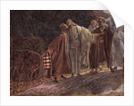 Hail Master, and He Kissed Him by James Jacques Joseph Tissot