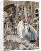 A Holy Woman Wipes the Face of Jesus by James Jacques Joseph Tissot