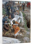 The Body of Jesus Carried to the Anointing Stone by James Jacques Joseph Tissot