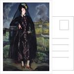Portrait of Anita Ramirez in Black, 1916 by Ignacio Zuloaga y Zabaleta