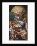 Adoration of the Shepherds, mid-18th century by Antonio the Elder Gonzalez Velazquez