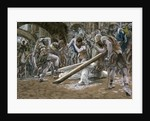 Christ Falls Beneath the Cross by James Jacques Joseph Tissot