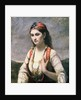 The Young Woman of Albano, 1872 by Jean Baptiste Camille Corot