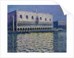 The Doge's Palace in Venice, 1908 by Claude Monet