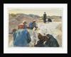 Mending a Sail by John Singer Sargent