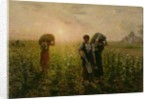 The End of the Working Day, 1886-87 by Jules Breton