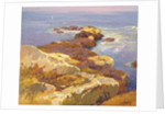 Rocks and Sea by Edward Henry Potthast
