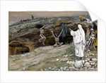 The Two Men Possessed with Unclean Spirits by James Jacques Joseph Tissot