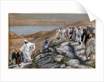 Christ Sending Out the Seventy Disciples, Two by Two by James Jacques Joseph Tissot